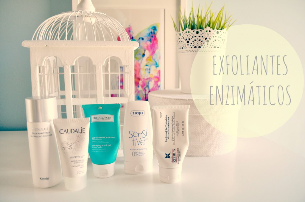 Exfoliantes enzimáticos