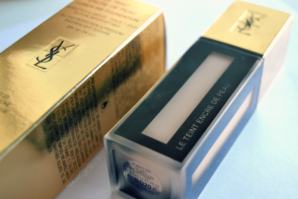 ysl, base de maquillaje, review, yslfusionink