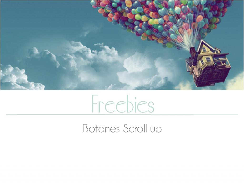 Freebies: botones scroll up