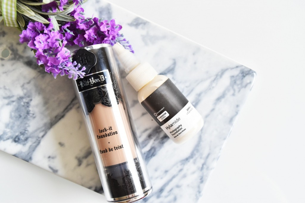 KvD Foundation + Photography foundation Hylamide | Review