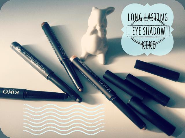 Long Lasting eye shadow by Kiko