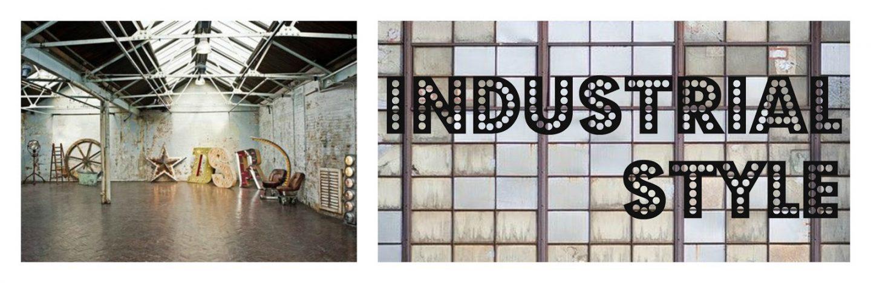 Industrial Vintage Deco