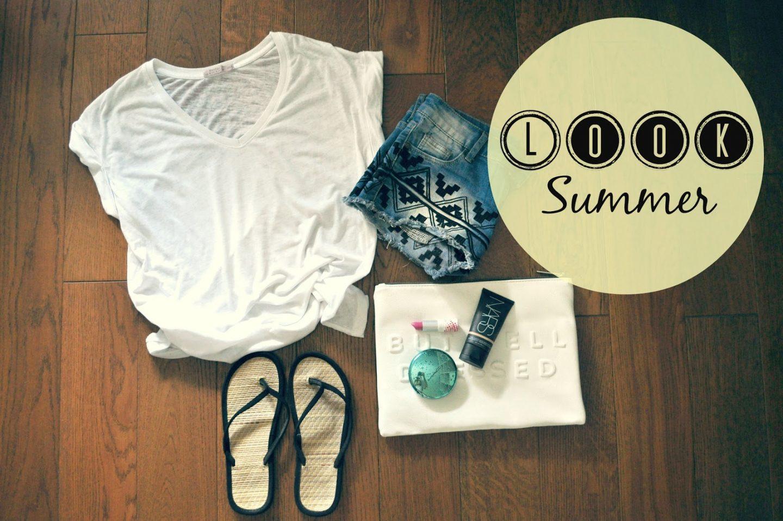 Basic summer look