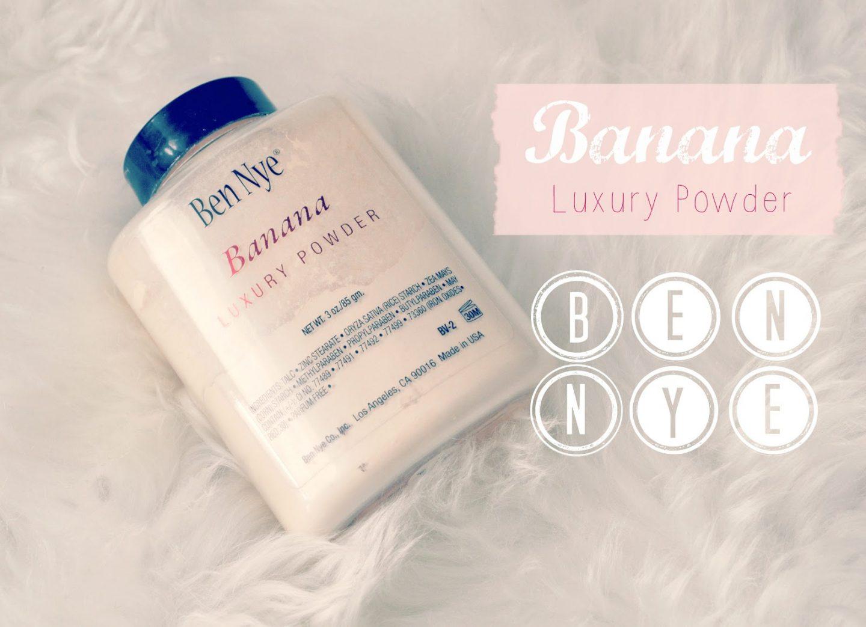 Banana luxury powder Ben Nye