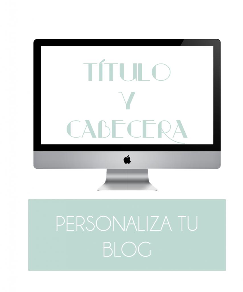 Diseño de blogs: Título y cabecera