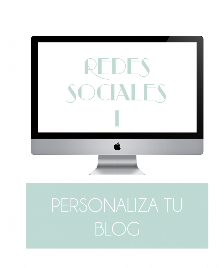 Diseño de blogs V: Redes Sociales. Botones