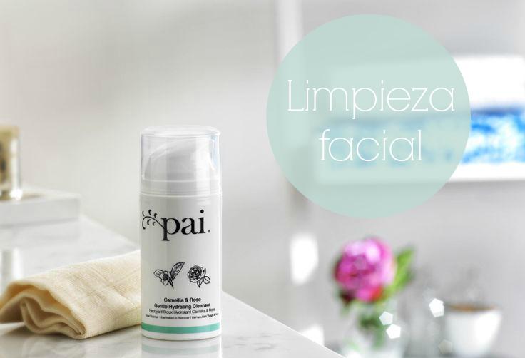 Rutina Facial: limpieza