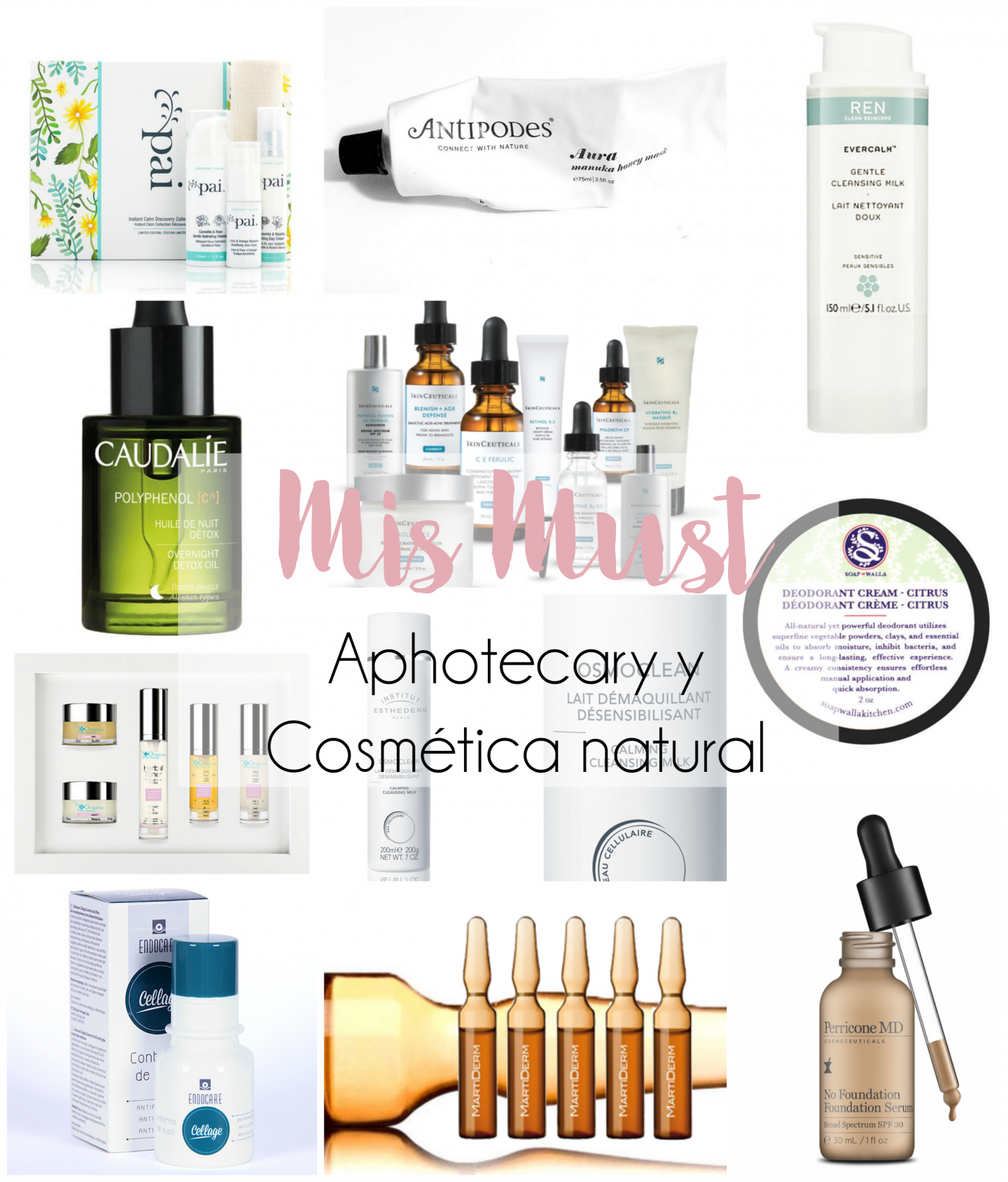 Mis Must | Aphotecary y cosmética natural